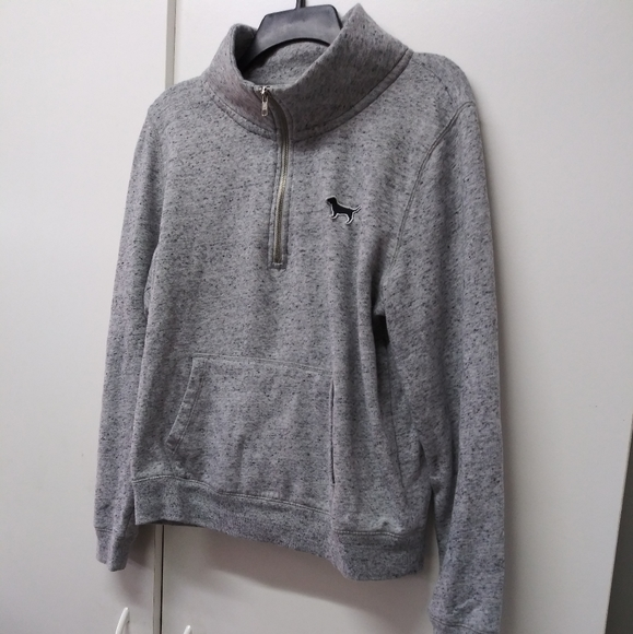 Pink pull over sweater
